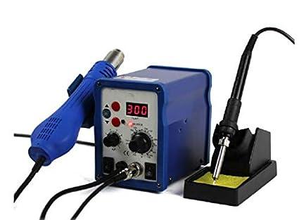 Temperatura constante GOWE 220 V 700 W estación de soldadura antiestático de soldador + calor Element