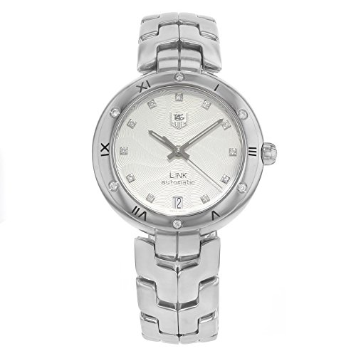 Authentic New Tag Heuer Link - Tag Heuer Link automatic-self-wind womens Watch WAT2312.BA0956 (Certified Pre-owned)