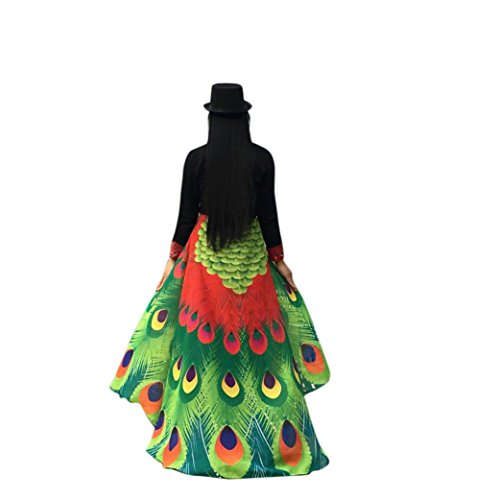 Hemlock Peacock Wings Shawl 2018 Butterfly Wings Shawl Fairy Cape Wrap Scarf Halloween Party Shawl Costume (Red)