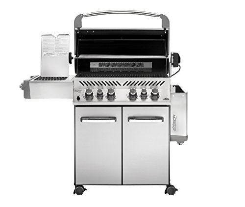Napoleon grills prestige 500 natural gas grill stainless import it all - All stainless steel grill ...