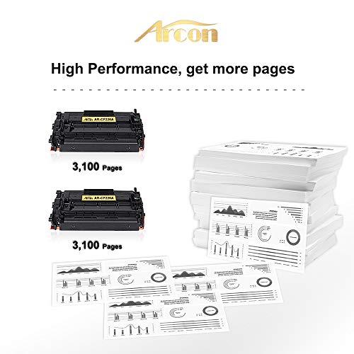 Arcon Compatible Toner Cartridge Replacement for HP 26A CF226A M402n MFP  M426fdw HP Laserjet Pro M402n M402dn M402dw M402d HP Laserjet Pro MFP  M426fdw