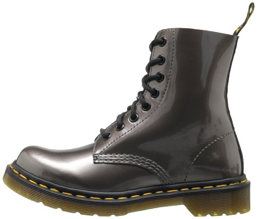 Donna pewter Stivali Spectra Patent Pascal argent Argento Martens Patent Pewter Dr xwqzXYOS