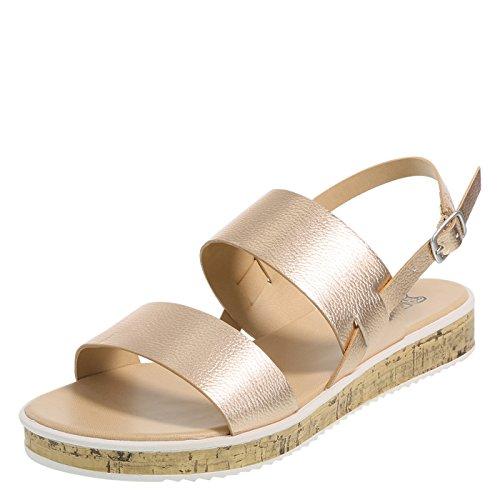 61e0c9a45cb Brash Women s Thatch Flat Sandal