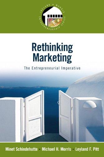 Rethinking Marketing: The Entrepreneurial Imperative