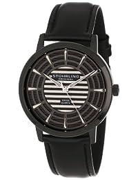 Stuhrling Original Men's 398.33551 Classic Winchester Colosseum Swiss Quartz Slim Black Watch