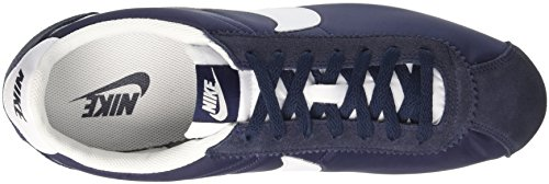 Nike Homme Classic white De obsidian azul Chaussures Cortez Gymnastique Azul Nylon OO6qYnr
