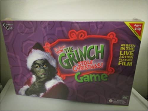 how the grinch stole christmas board game unknown 0794764014532 amazoncom books - How The Grinch Stole Christmas Games