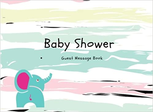 Baby Shower Guest Message Book Small Memory Journal For Family