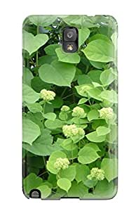 Anti-scratch And Shatterproof Flowers S Phone Case For Galaxy Note 3/ High Quality Tpu Case
