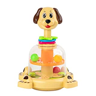 Toy To Enjoy Push & Spin (Dog)