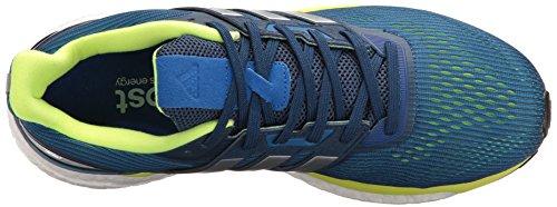 Adidas Mens Supernova M Scarpa Da Corsa Blu / Metallico / Argento / Elettricità