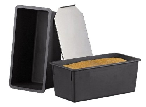 Matfer Bourgeat 345834 Exoglass Bread Mold with Stainless Steel Lid