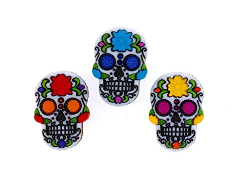 Jesse James Buttons JJB9069 Sugar Skulls