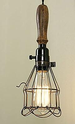 Trouble Light Pendant Light Copper Finish