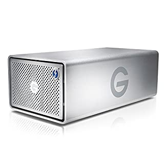 G-Technology 20TB G-RAID with Thunderbolt 2 and USB 3.0, Removable Dual Drive Storage System, Silver - 0G05012-1 (B01LLNJNNO) | Amazon price tracker / tracking, Amazon price history charts, Amazon price watches, Amazon price drop alerts
