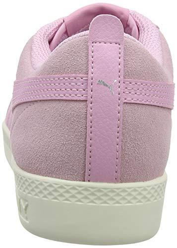 Silver V2 pale Rosa puma White whisper Sd Smash Zapatillas Mujer Puma Wns Para Pink PFxnCqg