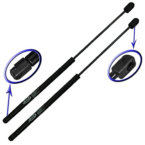 Two Front Hood Gas Charged Lift Supports for 1995-2001, 1995-1999 Chevrolet Monte Carlo. Left and Right Side. WGS-460-2 - Door Front Carlo Chevrolet Monte
