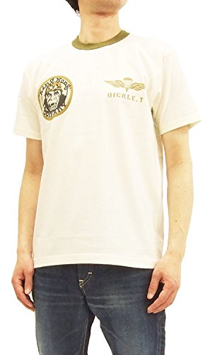 TOYS McCOY Men's Slim Fit Short Sleeve T-Shirt Taxi Driver Military Tee TMC1807 Off-White Japan XL (US L/UK 40) by TOYS McCOY