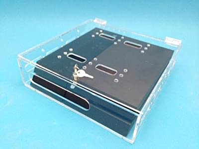 New Acrylic Security Console Case Compatible with and for PlayStation PS4 by Acrylic Mega Store