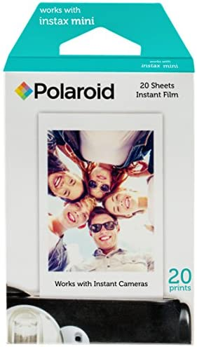 Polaroid Instant Film (60 Sheets) 6 x Instant Film 10 Shots per Pack + 10 Hanging Picture Frames + 60 Sticker Frames Accessory Bundle – Designed for use with Fuji Instax Mini & PIC 300 Cameras PIF300 41LnUtQCRKL