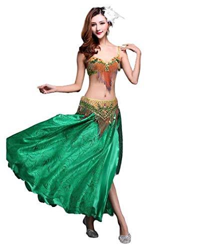 Danza India Vientre Danza Rendimiento Ropa Vientre Danza ...