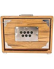 SAI MUSICAL Shruti Box - Teak Wood - 13 Drone (PDI-ABC)