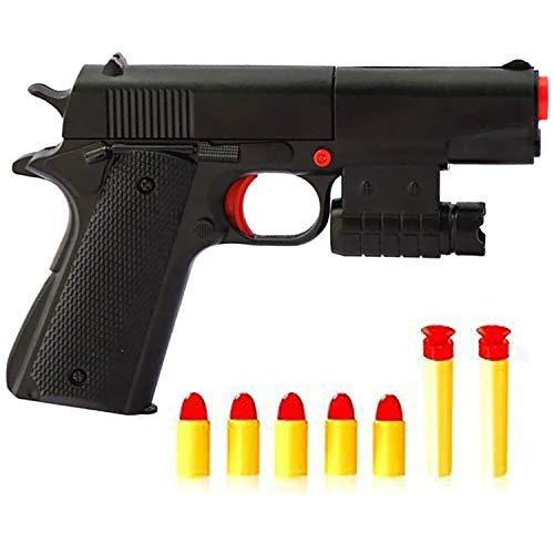 Feisuo Toys Gun Games-Realistic 1:1 Scale Colt M1911A1 Rubber Bullet Pistol Mini Pistols , Slide Action for Training or - M1911a1 Pistol