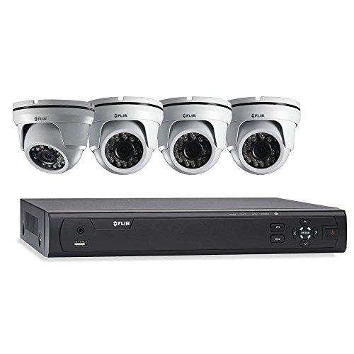- FLIR MPX HD-CVI Bundle 4CH, 1T DVR w/ 4 Cameras 1.3MP IR Domes M3104E1A4