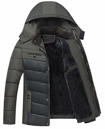 Piumini 1 Mens Il Outwear Oggi Ispessiscono Cappotto uk Incappucciato Puffer pnwfS8