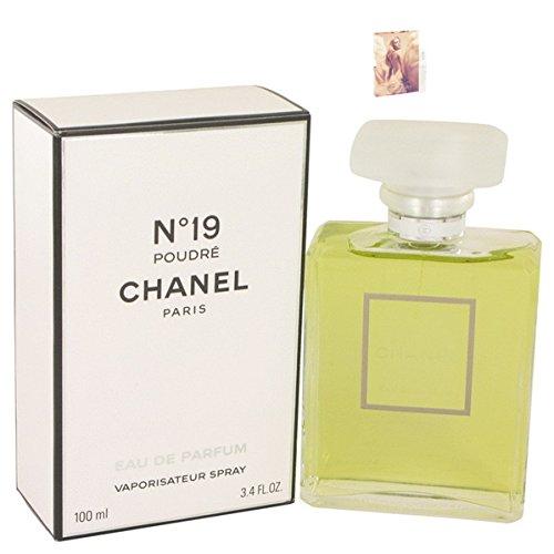 Chánêl 19 Poudrê Pêrfumê For Women Eau De Parfum 3.4 oz. Free! MA 0.06 - Chanel Ma