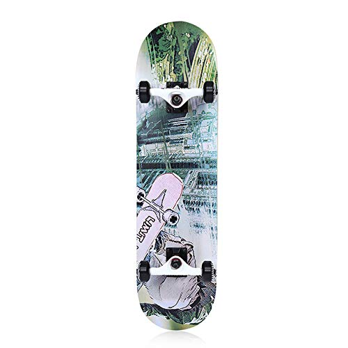 beiping Four-Wheel Double Snubby Maple Long Board Skateboard for Entertainment