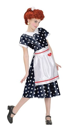 Fun World I Love Lucy Child Dress Small