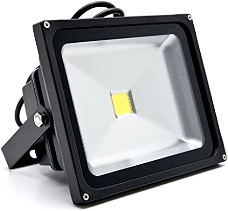 4X 10Watt LED Flood Light High Power Cool White Indoor Outdoor Lighting Fixtures