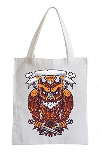 Rogue owl Cooler Party Jutebeutel