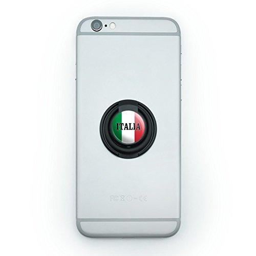 Italia Italy Italian Flag Mobile Smart Phone Finger Ring Grip Holder Stand