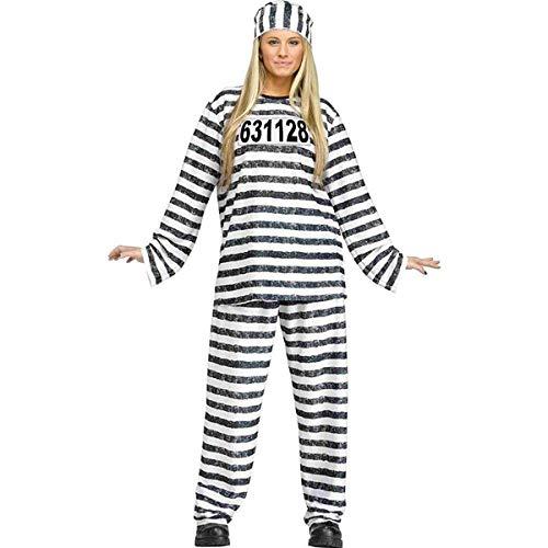 Adult Jailhouse Honey Costume, One Size