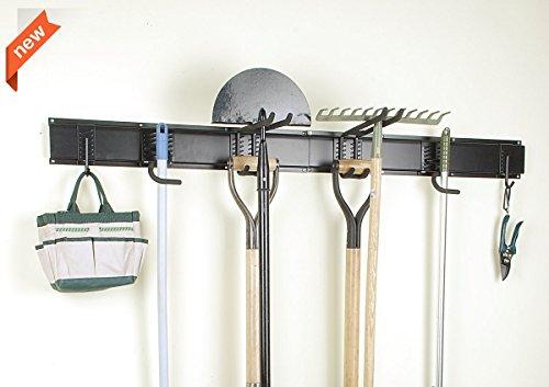 Ultrawall 8PC Garage Organizer,Garage Storage System With Hooks,Tool Holder Hanger (Shed Rack Tool Hanging)