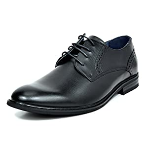 Bruno Marc Men's Prince Leather Lined Dress Oxfords Shoes