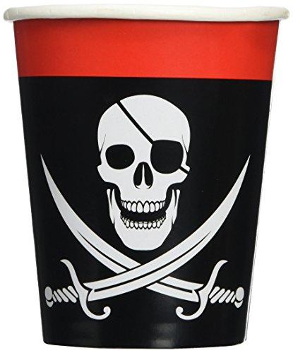 Pirate Beverage Cups   (8/Pkg)