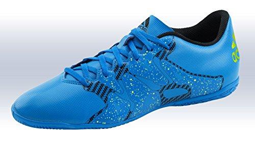 Adidas X 15.4 IN Fussballschuhe Herren Schuhe Fußball Halle Indoor Hallenschuhe S77886 Blau