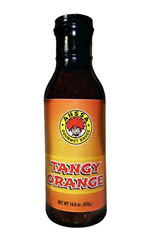Strips Chicken All Natural Grilled (Tangy Orange Sauce - Cooking or Marinade - Goes Great on Chicken, Dim Sum, Egg Rolls, Chicken Strips, Ribs, Shrimp & More (1 Bottle) (No High Fructose Corn Syrup))