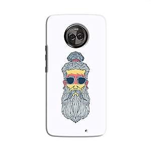 Cover It Up - Hipster Yogi Moto X4 Hard Case