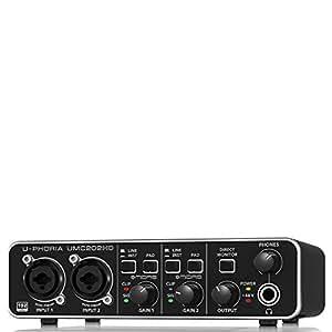BEHRINGER U-PHORIA UMC202HD, 2-Channel (