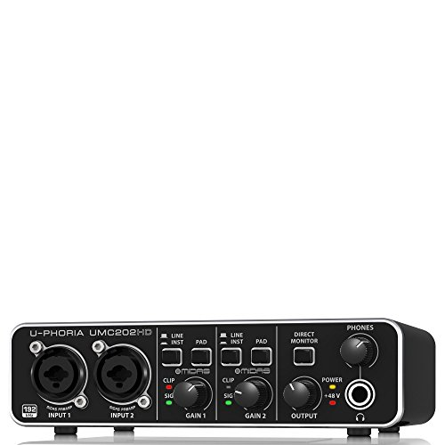 BEHRINGER U-PHORIA UMC202HD, 2-Channel (