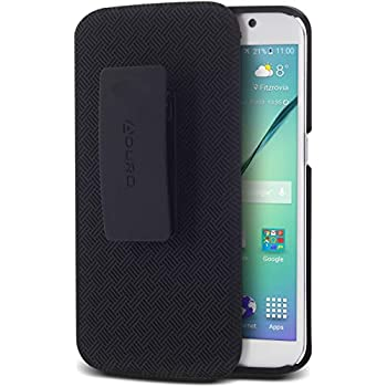 Amazon.com: Aduro Galaxy S6 Case, Shell & Holster Combo Case ...