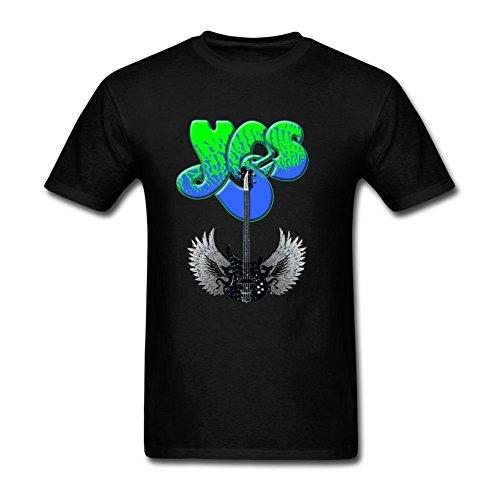 Black Alma Xxxxl Logo T Band Harriet Rock Shirt Homme's Yes zz7ra