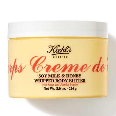 With Honey And Soy (Creme de Corps Soy Milk & Honey Whipped Body Butter 226 g.)
