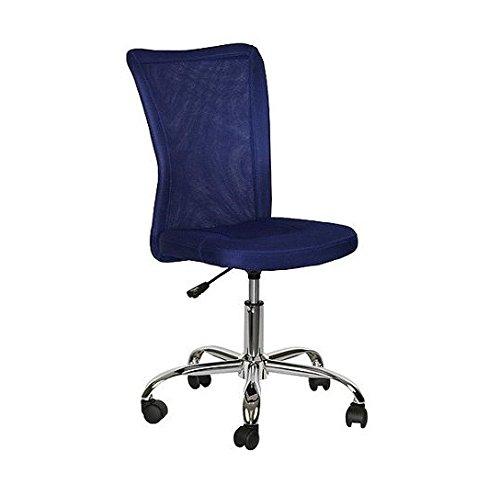 Mainstays Desk Chair, Multiple Colors (Blue)
