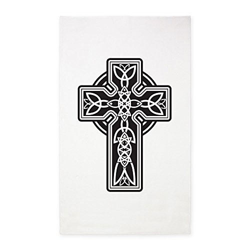 3' x 5' Area Rug Celtic Cross by Royal Lion