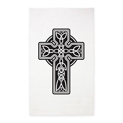 3' x 5' Area Rug Celtic Cross by Royal Lion